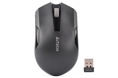 A4tech G3-200N (Grey) Wireless Mouse