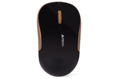 A4tech G3-300N (Black+Golden) Wireless Mouse