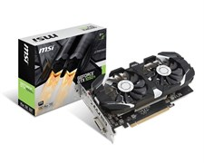 MSI GTX 1050 Ti 4GT OCv1 4GB Graphic Card