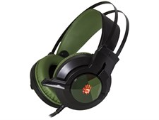 A4tech Bloody J437 Army Green 7.1 Virtual Surround Sound Glare USB Gaming Headset