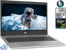 "HP Probook 450 G7 10th Gen Core i5, 8GB, 1TB HDD, MX130 2GB, 15.6"" FHD, DOS, Silver"