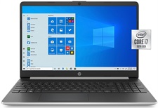 "HP 15-DY1078NR 10th Gen Core i7, 8GB, 256GB NVMe M.2 SSD, 15.6"" HD, Windows 10"