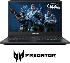 "Acer Predator Helios 300 Gaming Laptop 9th Gen Ci7, 16GB, 256GB SSD, GTX1660Ti 6GB, 15.6"" FHD 144Hz"