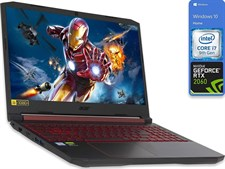 "Acer Nitro 5 15 Gaming Laptop 9th Gen Ci7, 16GB, 256GB SSD, RTX 2060 6GB, 15.6"" FHD 144Hz, W10"