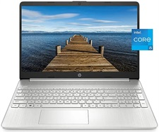"HP 15-DY2045NR 11th Gen Core i5, 8GB, 256GB M.2 SSD, 15.6"" HD, Windows 10, Silver"