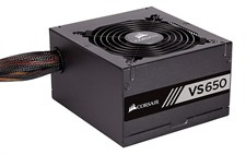 Corsair VS650 650 Watt 80 Plus White Certified Power Supply